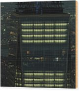 One World Trade Center In New York City  Wood Print