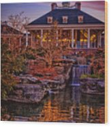Opryland Hotel Wood Print