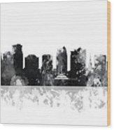 Orlando Florida Skyline Wood Print