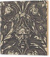 Ornament Wood Print
