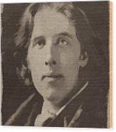 Oscar Wilde 1 Wood Print