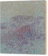 o.T. Wood Print