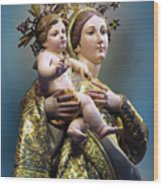 Our Lady Of Graces Wood Print
