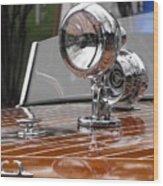 Outboard Runabout Wood Print