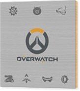 Overwatch Wood Print