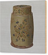 Pa. German Jar Wood Print