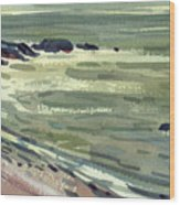 Pacific Evening Wood Print