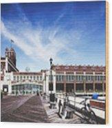 Paramount Theatre - Asbury Park Boardwalk Wood Print
