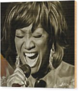 Patti Labelle Collection Wood Print