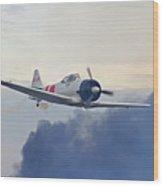 Pearl Harbor Reenactment Wood Print