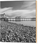 Penarth Pier 5 Wood Print