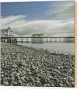 Penarth Pier 6 Wood Print
