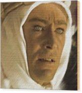 Peter O'toole As Lawrence Of Arabia Wood Print
