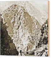 Pico Ruivo Mountain, Madeira, Portugal, C.1900 Wood Print