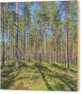 Pinewood Wood Print