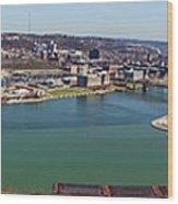 Pittsburgh Panorama Wood Print