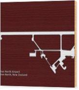 Pmr Palmerston North Airport In Palmerston North New Zealand Run Wood Print