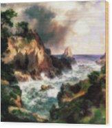 Point Lobos, Monterey, California Wood Print
