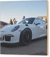 Porsche 911 Gt3rs Wood Print