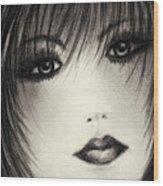 Portrait Study Wood Print