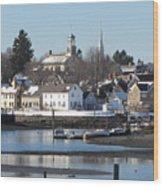 Portsmouth, New Hampshire Wood Print