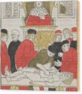 Possibly Johannes De Ketham Wood Print