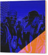 Public Enemy Collection Wood Print