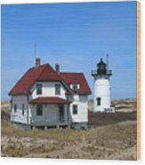 Race Point Lighthouse Wood Print