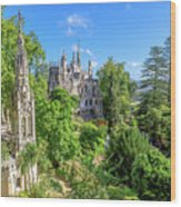 Regaleira Palace Sintra Wood Print
