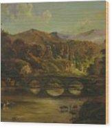 Renoir Lives Here Wood Print by Tigran Ghulyan