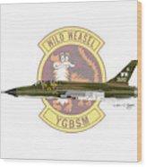 Republic F-105g Thunderchief 561tfs Wood Print
