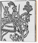 Richard I (1157-1199) Wood Print
