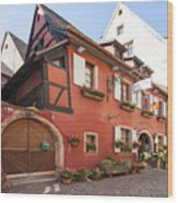 Riquewihr France Wood Print