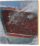 Riva Splash Wood Print