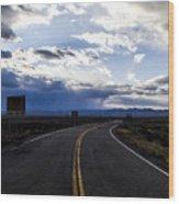 Road 2 Wood Print