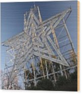 Roanoke Star In Late Afternoon Wood Print
