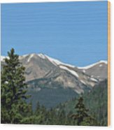 Rocky Mountains 2 Wood Print
