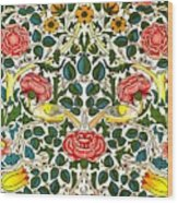 Rose Design Wood Print