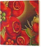 Rosehip Wood Print