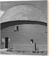 Route 66 - Round Barn Wood Print