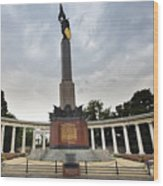 Russian Liberation Monument Wood Print by Andre Goncalves