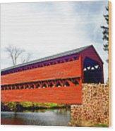 Sachs Bridge - Gettysburg Wood Print