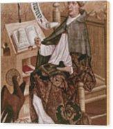 Saint Augustine (354-430) Wood Print