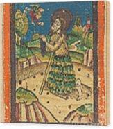Saint Onuphrius Wood Print