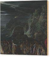 Saint Paul On Malta Wood Print