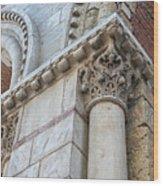 Saint Sernin Basilica Architectural Detail Wood Print