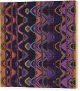 Sally's Shower Curtain Wood Print