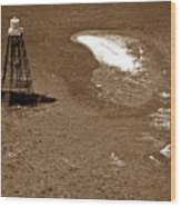 Sand Key Lighthouse Fl Wood Print