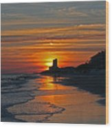 Seagrove Beach Wood Print