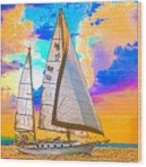 Shannon 38 Wood Print